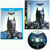 Nintendo WiiU Spiel BATMAN ARKHAM ORIGINS dt. PAL Ovp