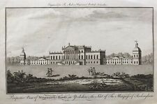 1779 Good size antique print: Wentworth House, Rotherham, South Yorkshire