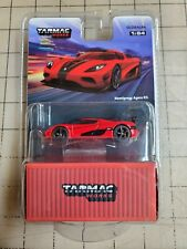 Tarmac Works 1/64 Koenigsegg Agera RS Red With Container NEW