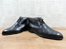 CHURCH'S Cheaney Nero Chukka Chelsea UK 8 US 9 EU 42 F larghezza standard
