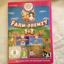 PC /Computer Spiel,Farm Frenzy ,1+2 ,ab 0 Jahre