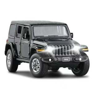 1:32 Jeep Wrangler Rubicon SUV Alloy Diecast Model Car Toy Collection Gift