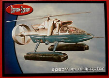 CAPTAIN SCARLET - Card #71 - Spectrum Helicopter - Cards Inc. 2001