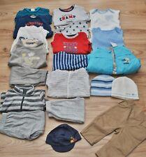 Baby Junge Bekleidungspaket gr. 62-80 22 Teile