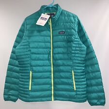 NEW Patagonia Down Sweater Jacket Emerald Extra Large (Women's)