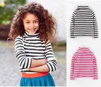 Mini Boden girls cotton turtle / polo neck jumper top shirt BNIB age 3 4 5 6 7 8
