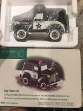 """dept 56 christmas in the city """"City Police Car� #58903 Mib"""