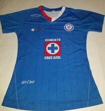 cruz azul soccer jersey for kids medium 23x16 in