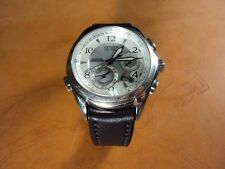 CITIZEN Eco Drive curved lug end leather watch strap Cheergiant MIT星辰錶圓弧型錶耳牛皮錶帶