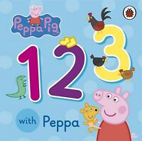 Peppa Pig: 1 2 3 with Peppa by Neville Astley (Board book) Fast and FREE P & P