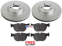 FOR BMW X5 E70 3.0 (2000-2009) FRONT BRAKE DISCS & PADS SET *NEW*