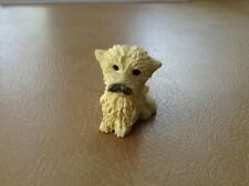 """""""SWEET LITTLE RESIN TERRIER POODLE DOG/PUPPY MINIATURE FIGURINE"""""""
