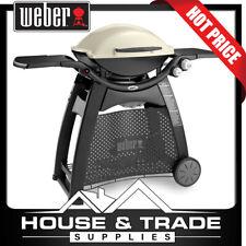 Weber Gas Barbecue Family Q LPG BBQ TITANIUM Q3100