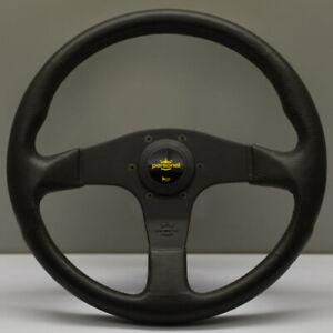 Personal Blitz Polyurethane Steering Wheel 330mm with Black Spokes - 8474.32.200