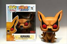 Funko Pop Naruto Shippuden Kurama Hot Topic Exclusive Vinyl 7 Inch Figure