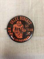Details about  /Vintage 1960//70's Oregon Ducks Pinback Button w// Ribbon Football Charm