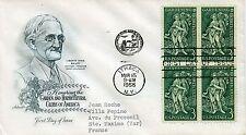 LETTRE / ETATS UNIS ITHACA / GARDEN AND HORTICULTURAL / SAINTE MAXIME / VAR 1958