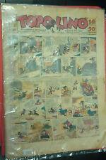 TOPOLINO GIORNALE- N° 408 - DEL 1940 MONDADORI-CON il mozzo del sommergibile