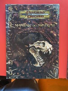 Manuale dei Mostri III 3 D&D 3.5 Dungeons & Dragons