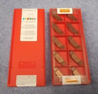 SANDVIK   CARBIDE INSERTS   N123L2-0792-0008-GF  GRADE 1125   SEALED  PACK OF 10