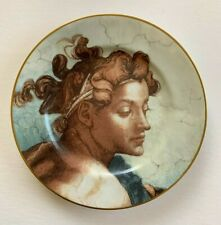 Fitz and Floyd Michelangelo Iv Collector's Plate Fine Porcelain Japan 533