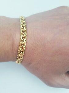 Andreas daub armband vergoldet 18,8cm (073)