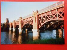 PHOTO  RAIL BRIDGE TO GLASGOW ST ENOCH RAILWAY STATION 1991