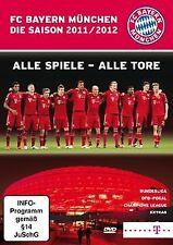 FC Bayern München - Saison 2011/2012/Alle Spiele - Alle Tore | DVD | Zustand gut