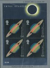 Gb Solar Eclipse Miniature Sheet Ms2106 - 1999