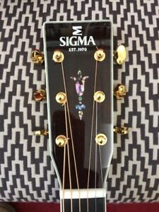 Sigma S000R-41 Ltd Edtn (OM) K&K p/up, case. Cost £1070 last month ships free*