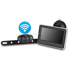 Wireless Car License Plate Backup Camera with 4.3'' Car Monitor Parking System