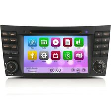 "7"" GPS SAT-NAV Radio CD Reproductor de DVD BLUETOOTH SD Estéreo Para Mercedes"