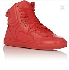 Rip Off's Men's Type One High-top Red Leather Sneakers Italy 9 (M)$475 NWBox