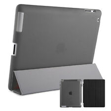 Smart Protection Covers Ipad 2 3 4 Case Cover Stand up Stand Shell Wallet Black