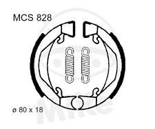 TRW Lucas ZAPATAS DE FRENO CON MUELLES mcs828 trasero KTM SX 50 LC pro-senior