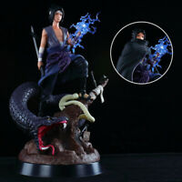 Uchiha Sasuke Burning Wind GK Statue PVC Toy Naruto New Anime Figuren Figur