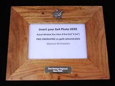 Turtle Kr Wooden Oak Photo Frame 6 x 4 Landscape or Portrait Wildlife Gift 381