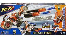 Nerf N-Strike Elite Rhino Fire Blaster NEW rhinofire twin barrel gun BRAND BNIB