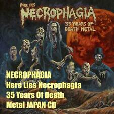NECROPHAGIA Here Lies Necrophagia 35 Years Of Death Metal JAPAN CD