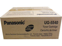 Panasonic UG5540 Black Fax Toner Cartridge Genuine OEM Original *