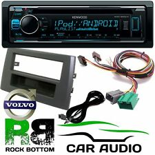VOLVO XC90 KENWOOD CD MP3 USB AUX Car Stereo Amp Bypass & Single Din Fascia Kit