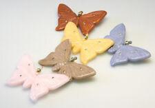 5 Stück Vintage Plastik Broschen Schmetterling 70er Jahre VINTAGE BROOCHES