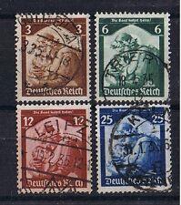 Deutsches Reich o MiNr 565 - 568 Mutter und Kind Saarland Rückkehr Abstimmung