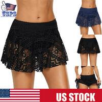 Women's Swim Skirt Tankini Bottoms Bikini Cover Up Beach Dress Swimwear Pants