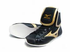 Mizuno Boxing Shoes Ef type Original color Black x gold white sole 21Gx154000