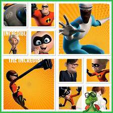 Topps Disney Collect Incredibles 15th Anniversary Character Set w/award * GDL