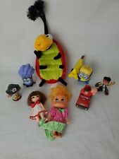Toy Lot Ladybug Wreck It Ralph Jack Pirate Minions Dolls Little People Fireman