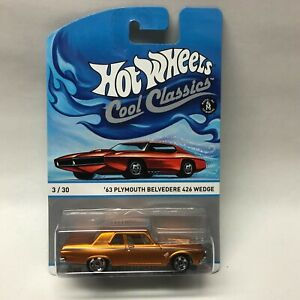 Hot Wheels Cool Classics '63 plymouth belvedere 426 wedge Spectrafrost Copper
