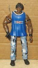 Ron Killings TNA Toybiz Style Wrestling Figure WWF WWE WCW Rare R-Truth + Shirt