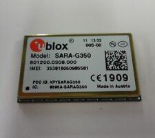 Ublox SARA-G350 GSM/GPRS module quad-band, voice and data, automotive grade